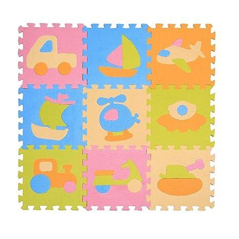Per 9/10/12/16pcs Puzzles Alfombras Infantiles para Niños ...