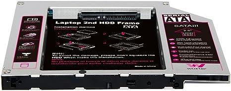 Woxter HDD Caddy 20, Soporte para 2º Disco Duro SATA 25
