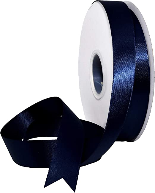 "Vintage 1//4/"" Black Satin Ribbon single face Crafts Sewing Trimming 500 yards"