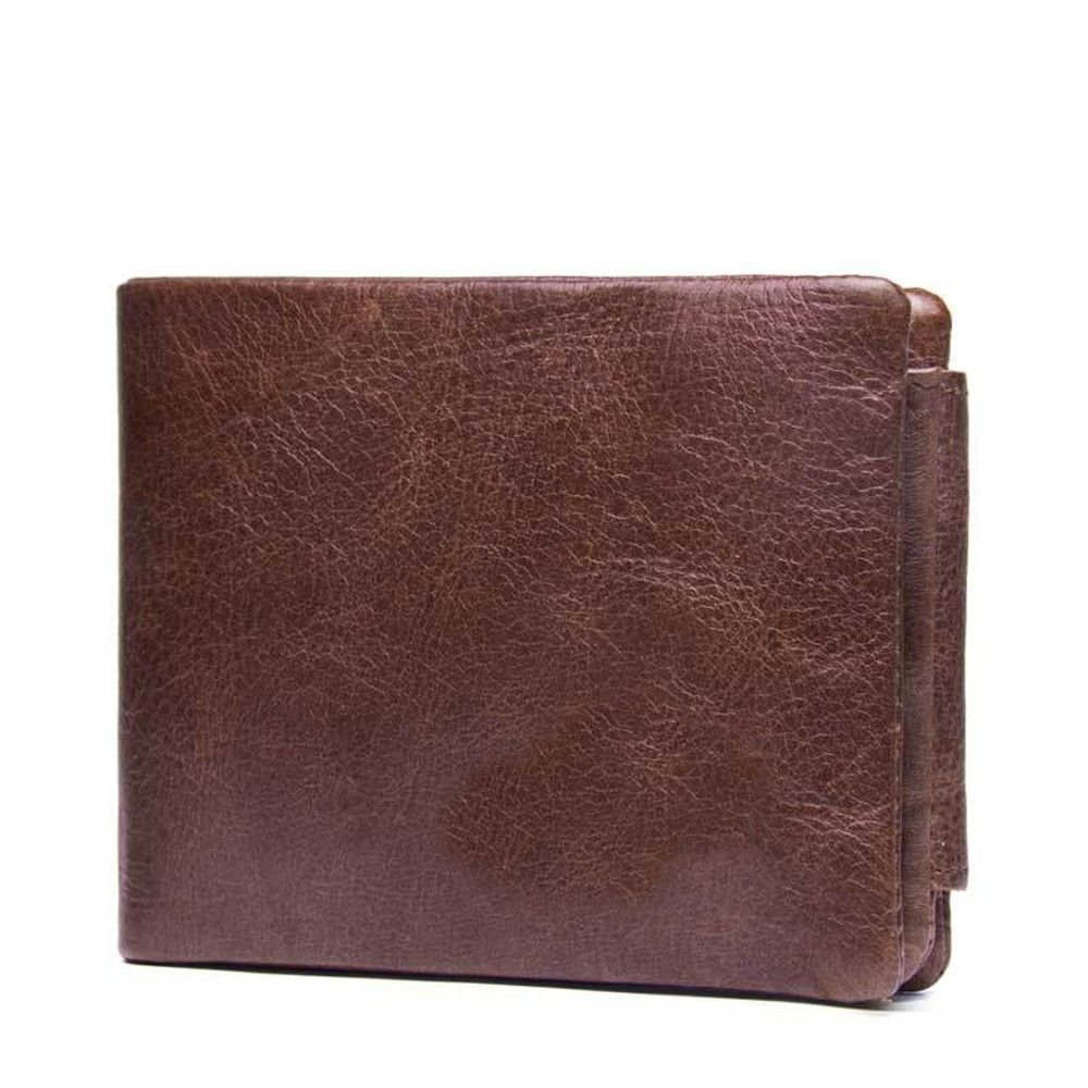 cross section The soft surface of the magnetic buckle with a handbag LIGYM Mens leather purse
