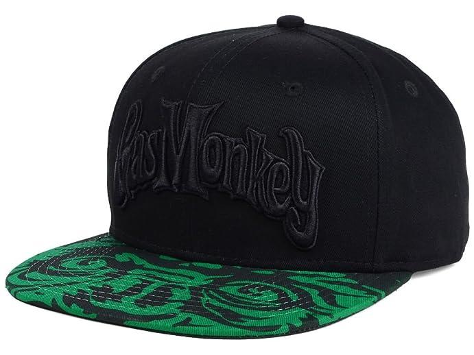 667d096fb89 Gas Monkey Garage Men s Monkey Eyes Snapback Cap at Amazon Men s ...