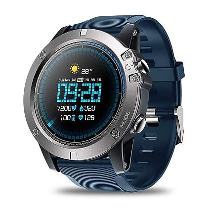 OJBDK Smart Watch Zeblaze Vibe 3 Pro Smart Watch para Hombre Clima óptico Monitor de Ritmo cardíaco Durante Todo el día Seguimiento Deportivo