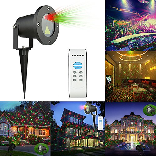MINO-ANT-Laser-Garden-Light-Aluminum-Waterproof-Ground-Landscape-Projector-LightsStage-Light-Lamp-with-Wireless-Remote-Control-for-Christmas-Decoration-Holiday-Party-Birthday