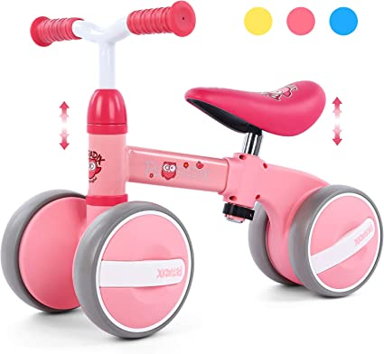 Timy Baby Balance Bike for 1 Year Old Kids Riding Toys for 10-24 Months Toddler