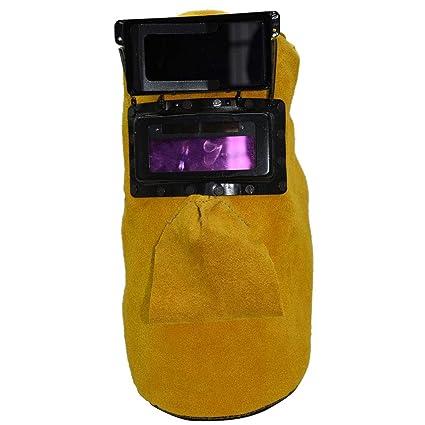 Vosarea Casco de oscurecimiento automático de la Lente de Filtro del Soldador Que suelda la máscara