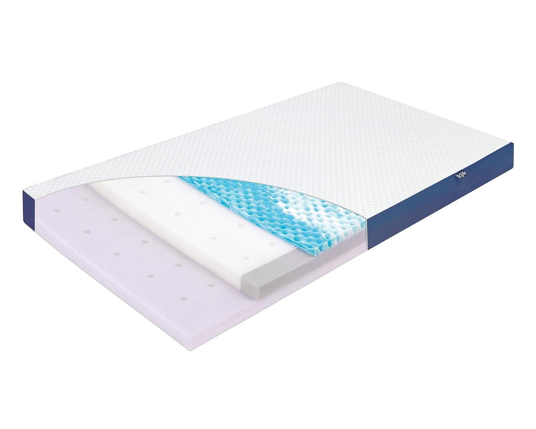 Julius Zöllner 7940200021 Babymatratze Dr. Lübbe NEW Air Premium 70x140cm, OEKO-TEX Standard 100, Funktionsbezug mit TENCEL Fasern, weiß