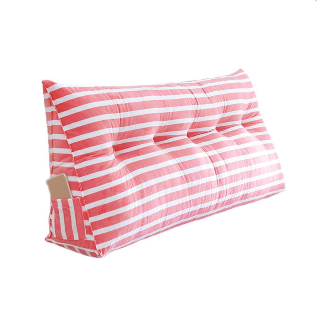 【年中無休】 CSQ枕 ストライプの枕、複数の色の綿の服の耐性のある枕新しい家の装飾の居間の装飾の枕複数のサイズ 寝具 (色 ピンク : 青, (色 サイズ さいず 青, : 135cm) B07PW6BRTT 70cm|ピンク ピンク 70cm, 紀州 器楽や:6dd14855 --- arianechie.dominiotemporario.com