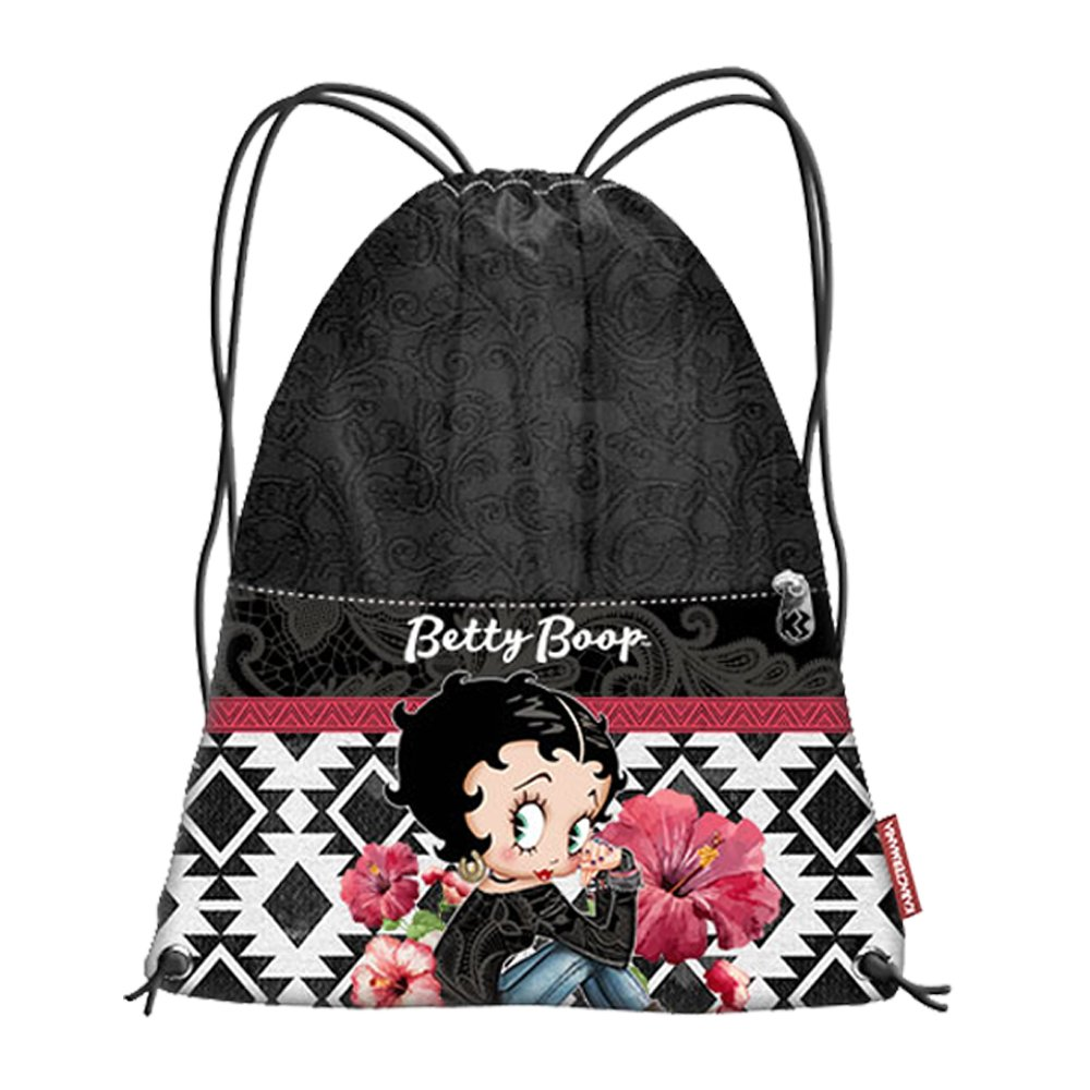 Beige 42 cm Karactermania Betty Boop Streets Bolsas con Cord/ón