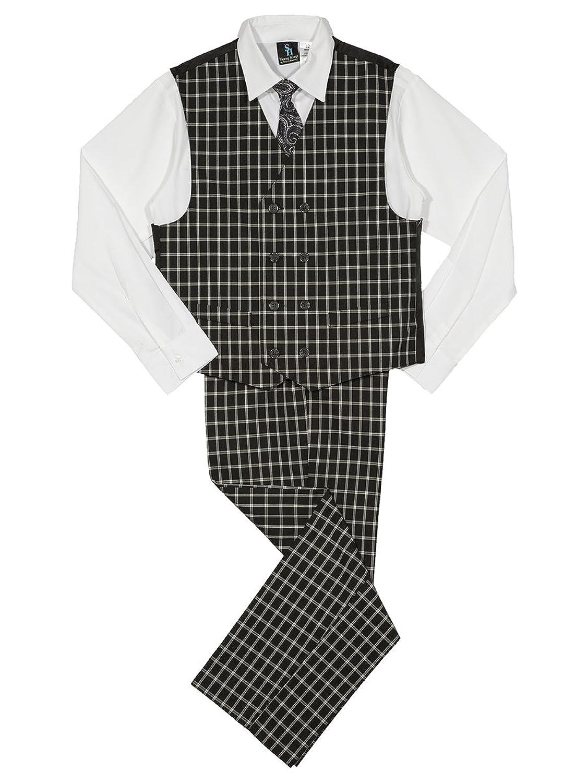 New Vintage Boys Clothing and Costumes Steve Harvey Boys Four Piece Vest Set  AT vintagedancer.com