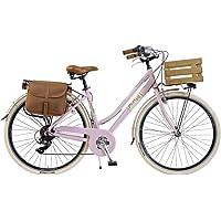 Via Veneto by Canellini Bici Vélo Citybike Byciclette CTB Femme Dame Vintage Retro Via Veneto Aluminium Boite et Sonnette Bell