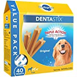 Pedigree Dentastix Large Dental Dog Treats Original Flavor, 2.08 Lb. Pack (40 Treats), Makes A Great Holiday Dog Treat