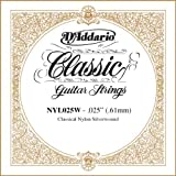 Cuivre Xcdiscount NYL025W plaqué argent classique seule chaîne, .025