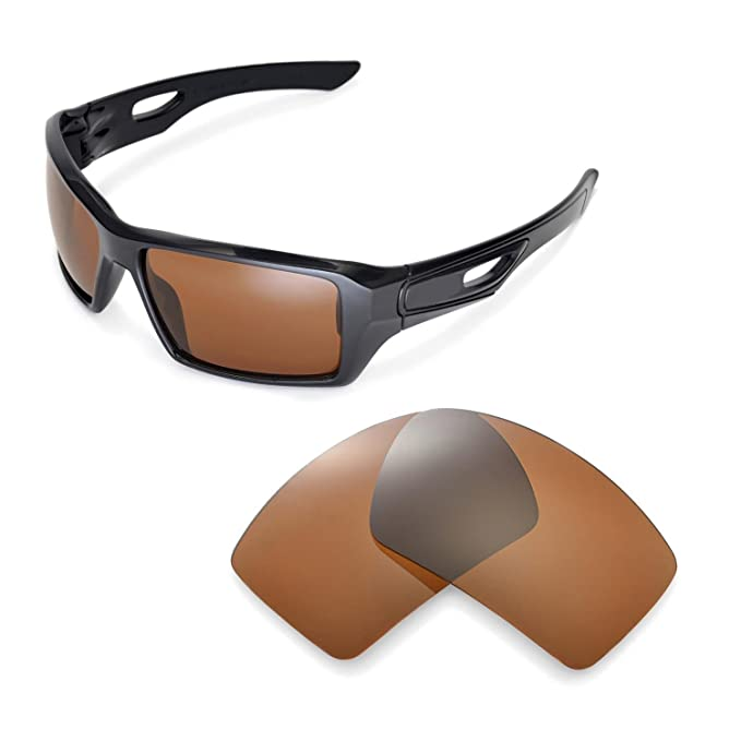45101b30be Image Unavailable. Image not available for. Color  Walleva Replacement  Lenses for Oakley Eyepatch 2 ...