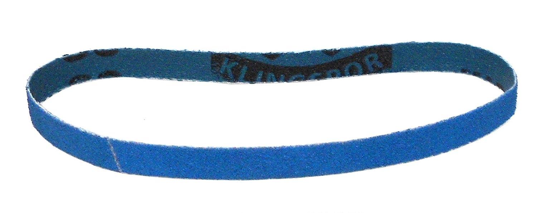 Klingspor CS 411 Y Schleifband//Feilenband K/örnung: P120 25 St/ück 10 x 330 mm