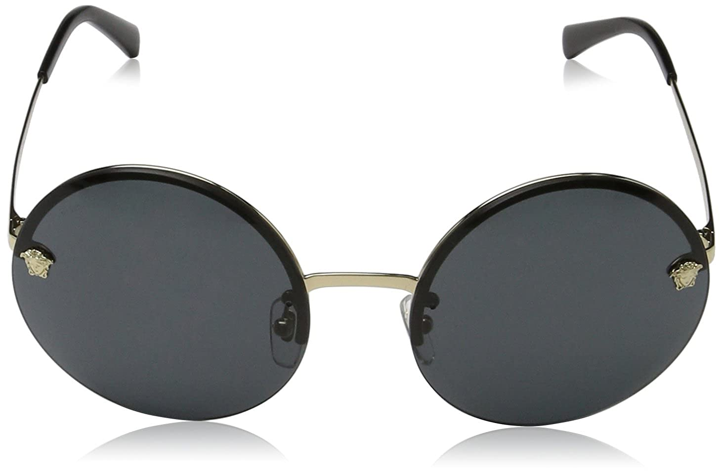 44e564420bdc Amazon.com  Versace Womens Sunglasses Gold Gold Metal - Non-Polarized -  59mm  Versace  Clothing