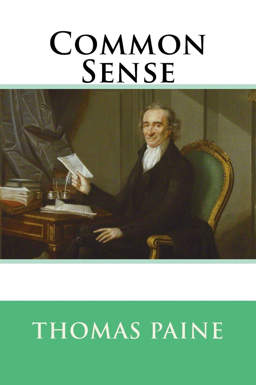 Common Sense Copertina flessibile Thomas Paine