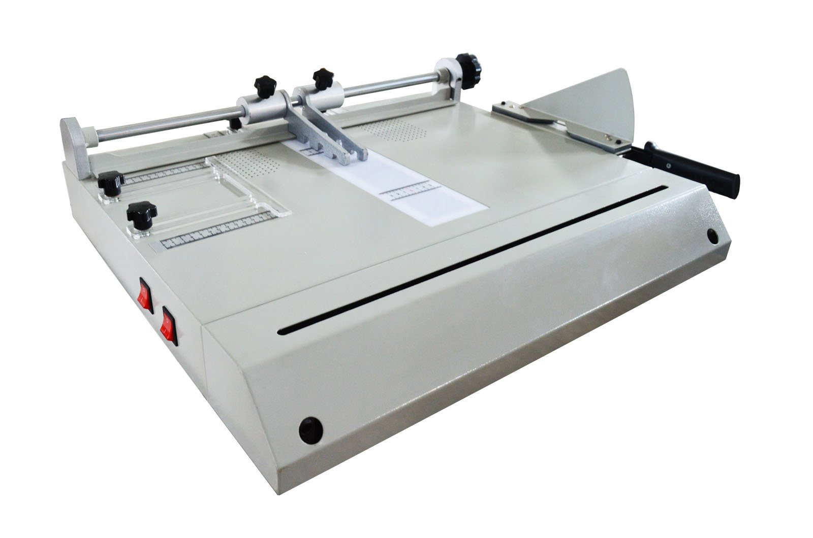 INTBUYING Hard Book Cover Making Machine 3 in 1 110V Book Shell Making for Photo Album Brochures