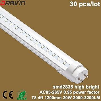 Best of T8 Light Led Tube Lamp 4 foot 20W 1200MM Fluorescent Light Super Bright AC85 265V New - fluorescent light bulb covers Photo