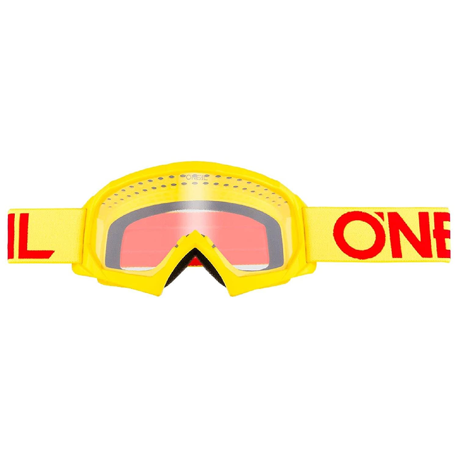 O'Neal B-10 Kinder Solid Goggle Kinder Crossbrille Motocross DH Downhill MX Anti-Fog Glas Youth, 6024-11 Farbe gelb O' Neal 6024-113O