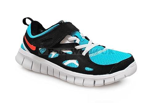 separation shoes ed33c 32b0f NIKE Free Run 2 (PSV) Scarpe per Bambini Scarpe da Ginnastica 443743,  (Colour Turquoise Blue Crimson White Black), 44,5 Amazon.it Scarpe e  borse