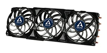 ARCTIC Accelero Xtreme III - AMD/NVIDIA Graphics Card Cooler I Compatible  with GTX 1080, 1070, 1060 I Pre-applied MX-4 Thermal Paste I Incl  Three