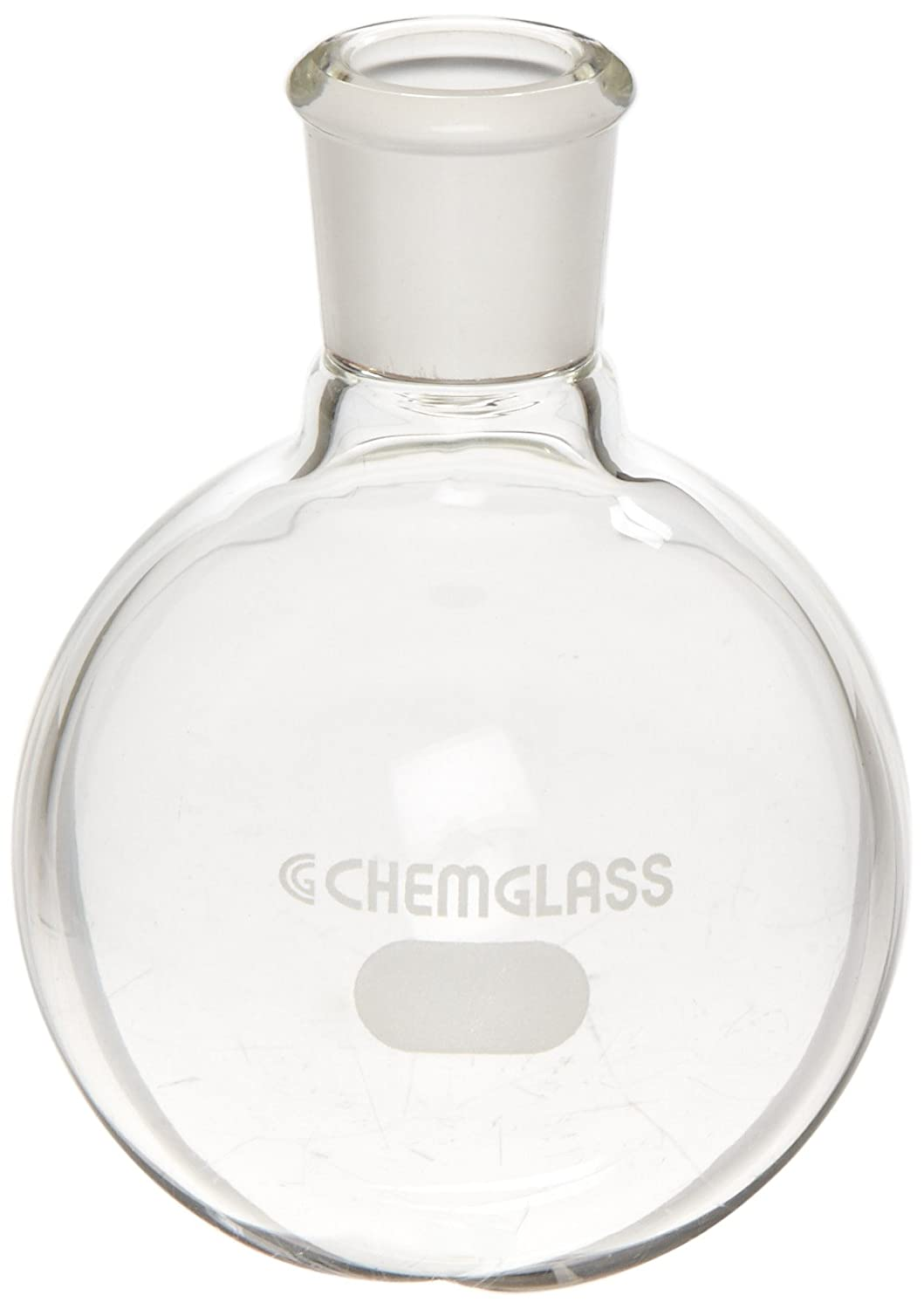 Chemglass CG-1506-90 Glass 100mL Heavy Wall Single Neck Round Bottom Flask,  with 14/20 Standard Taper Outer Joint: Science Lab Boiling Flasks:  Amazon.com: ...