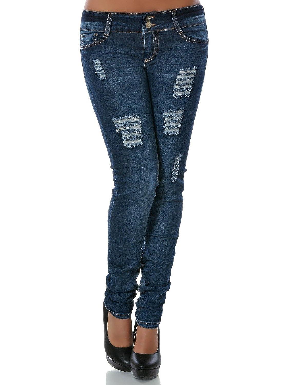 9fef8cd873d7 chic Damen Jeans Hose Skinny (Röhre) No 14154 - lkpp.gov.my