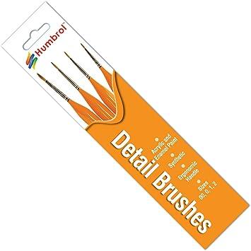 Humbrol - Pack Pinceles ergonómicos para Figuras (Hornby AG4301 ...