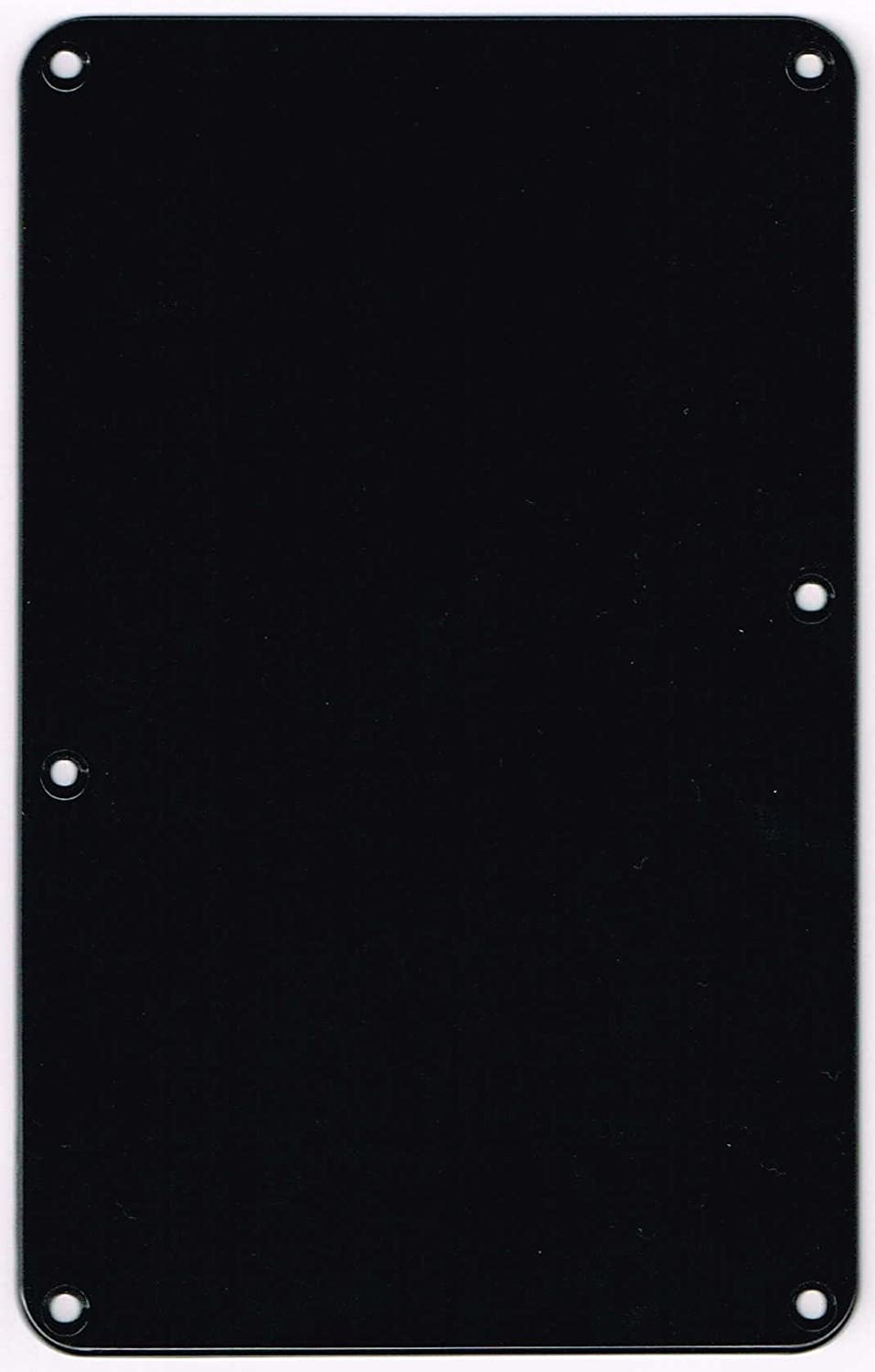 MADE IN JAPAN ST TremoloBackPlate No Hole Black