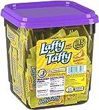 Wonka Laffy Taffy, Banana Flavor, 145 count tub (Pack of 1)