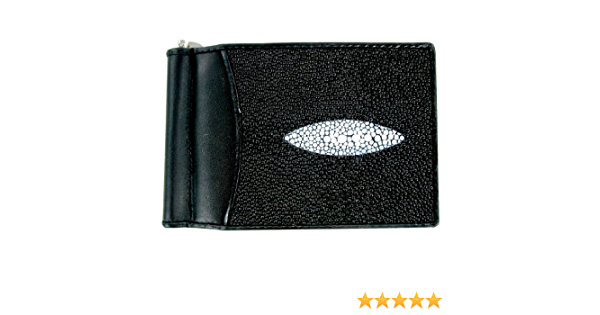 Metallic Silver Stingray Money Clip by UNEARTHED