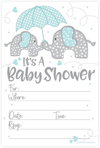 Boys Blue Elephant Baby Shower Invitations Safari Elephant Baby Shower Invitations Baby Boy Blue Elephant Baby Shower Decor Elephant Baby Shower Invitations With Envelopes