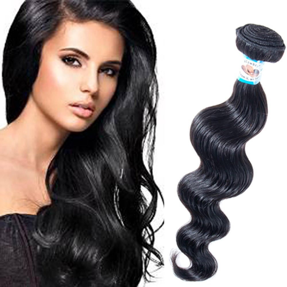Amazon Body Wave Virgin Remy Hair Brazilian Can Be Dyed