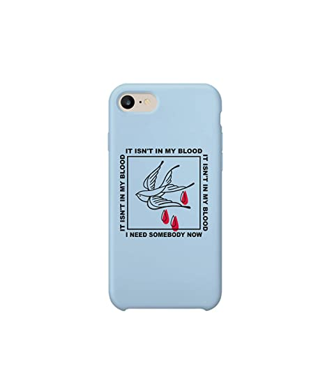 pretty nice 97881 b2baa Amazon.com: Shawn Mendes Quote Not My Blood iPhone 6 Case ...