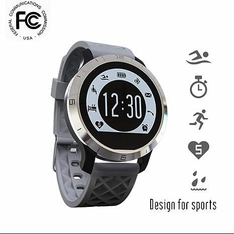 SmartWatch Bluetooth reloj inteligente Reloj Deportivo,Fitness Tracker,Podómetro,Pantalla Táctil,Control