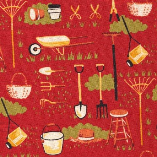 Farmyard Sentimental Studios Moda Fabric ()