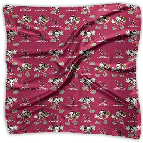 - Aoskin Arizona Cardinals Square Hair Scarf Women's Scarf Fashion Printed Square Scarf
