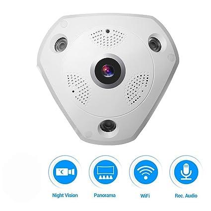 Buy Citra 360° Panoramic Wireless IP Camera Audio Video Wifi
