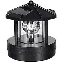 MCLseller Baliza giratoria de luz Solar, luz Exterior