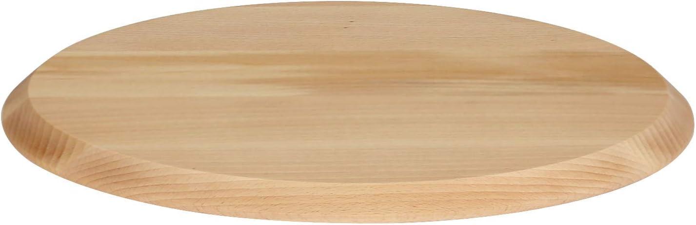 Flammkuchenteller /Ø 40cm aus Buche in Classic oder Modern B/ütic Pizzateller Artikel:/Ø 40cm Classic
