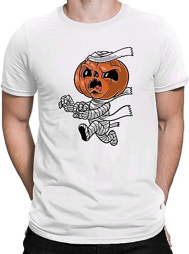Halloween Mummy, Camiseta para Hombre Manga Corta Hombre Camisetas Cuello Redondo Moda Camisetas: Amazon.es: Ropa y accesorios