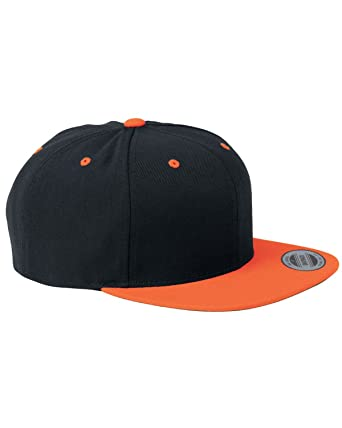 d0f056aece8 Yupoong panel structured flat visor classic snapback black neon jpg 342x428 Yupoong  structured