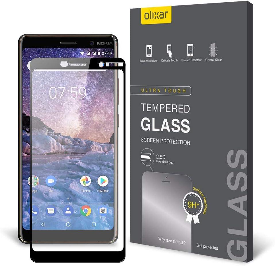 Protector de pantalla para Nokia 7 Plus - cristal templado 9H ...