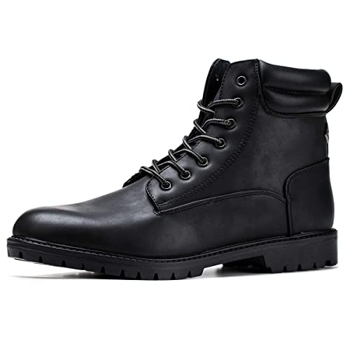 20363683ff86 Jivana Men's Ankle Boots Oxford Military Motorcycle Combat Fashion Boots
