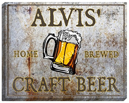 alvis-craft-beer-stretched-canvas-sign-16-x-20