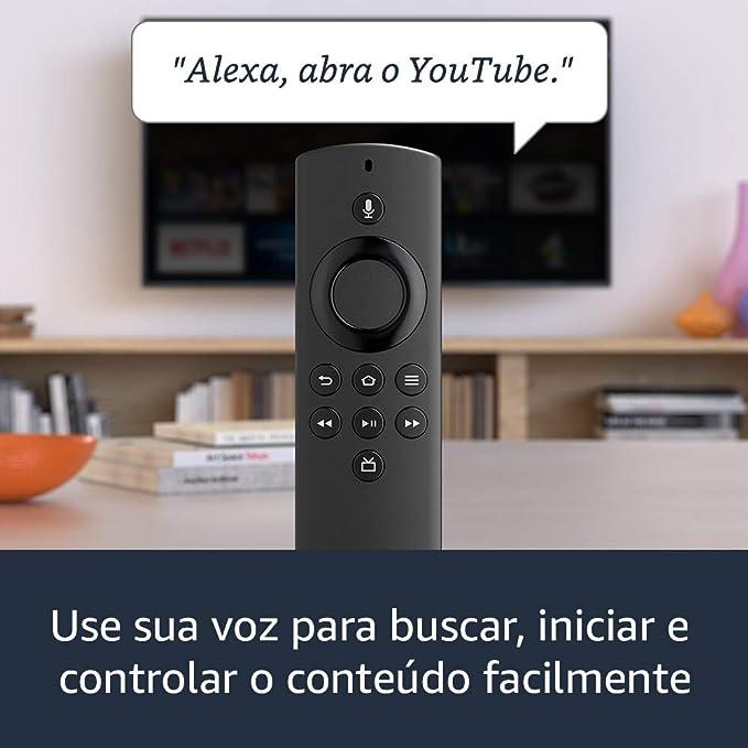 Fire TV Stick Lite com Controle Remoto Lite por Voz com Alexa | Streaming em Full HD | Modelo 2020