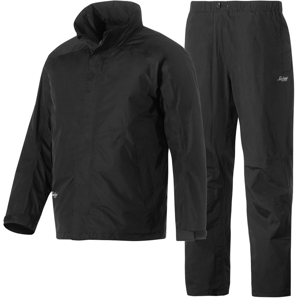 Snickers 83780400006 Size Large Waterproof Set - Black
