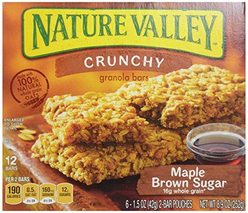 Nature Valley Maple Brown Sugar Crunchy Granola Bars, 8.9 oz