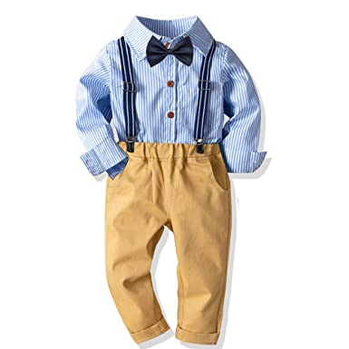 2019 New Spot Childrens Bow Tie Cotton Cotton Small Plaid Children Show Photo Shirt With Baby Bow Tie Flower Professional Design Boy's Accessories