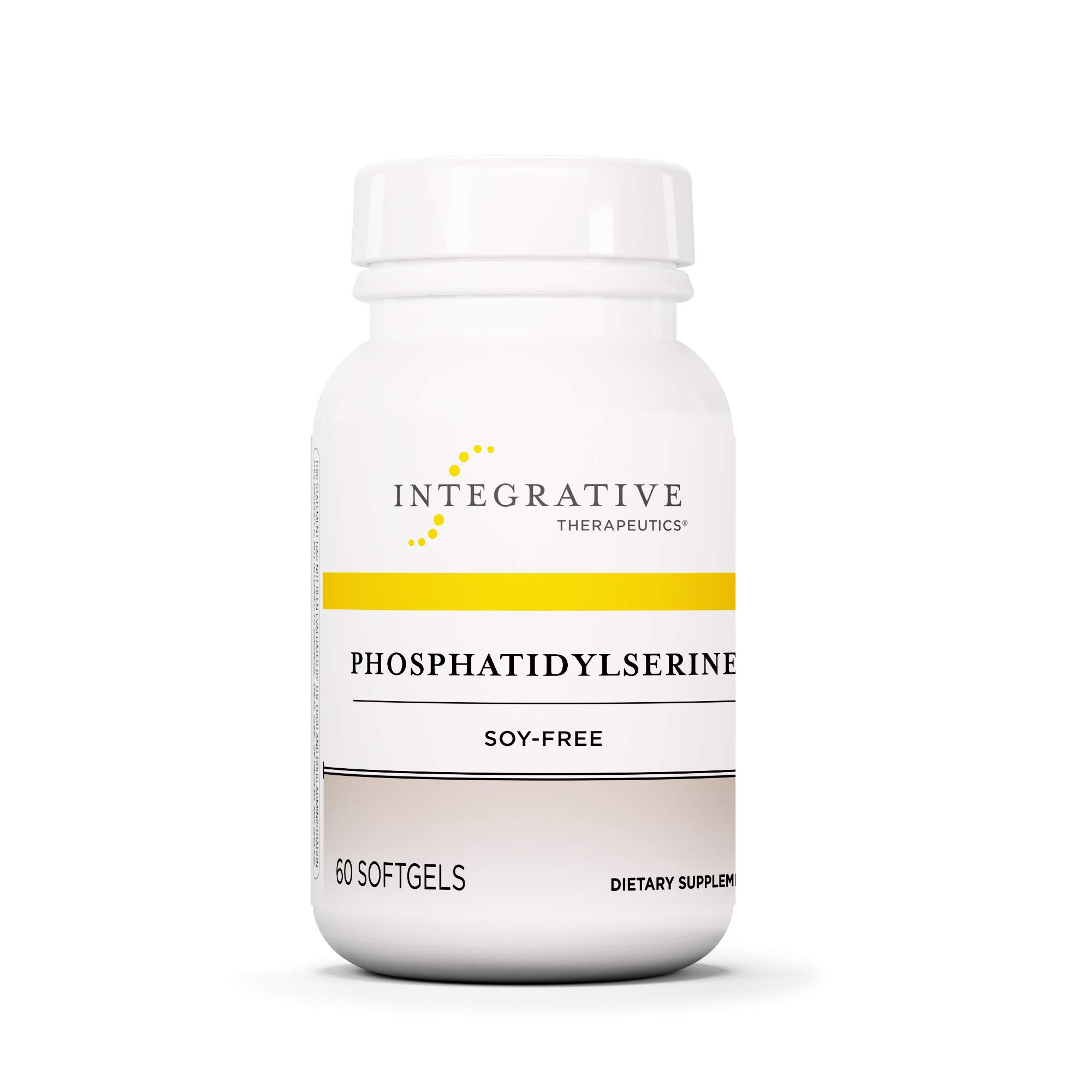 Integrative Therapeutics - Phosphatidylserine - Soy-Free - Promotes Cognitive Function and Mental Sharpness - 60 Softgels